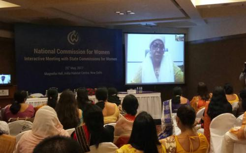Hon'ble Chairperson,NCW:We recognize that every state has different needs & women centric issues/Focus on action plan&implementation of same