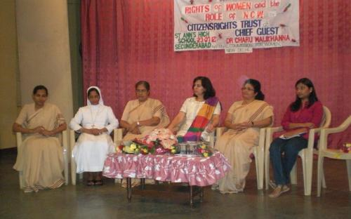 "Dr. Charu Walikhanna, Member, NCW was Chief Guest at Seminar on ""Rights of Women and the Role of National Commission for Women"""