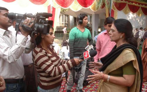 Press conference on Indecent Representation of Women - Act and Initiatives of NCW