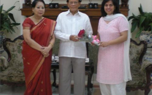 "Dr. Charu WaliKhanna, Member, NCW tour Bihar in view of the rising ""Crime Against Women"""