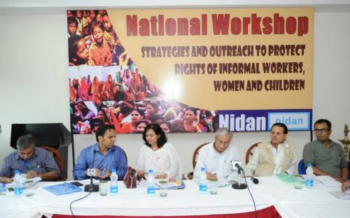 """Dr. Charu WaliKhanna, Member NCW, was Chief Guest at """" National Convention on Strategies and Outreach to Protect Rights of Informal Workers, Women and Children"""""""