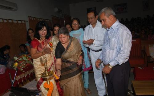 Ms. Mamta Sharma, Hon'ble Chairperson, NCW was the chief Guest at an awareness programme organized by Deepshikha Society for juvenile justice and prevention of female foeticide, Gurgaon