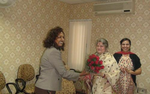 A delegation from Republic of Ethiopia headed by H. E. Mrs. Zenebu Tadesse, Minister of Women and Children and Youth Affairs visited National Commission for Women