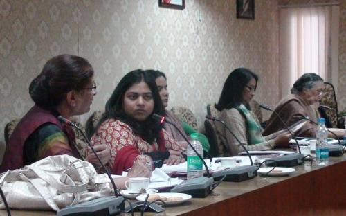 National Commission for Women Chairperson Smt. Mamta Sharma and Members have interactive session with representatives of National Women Organisations