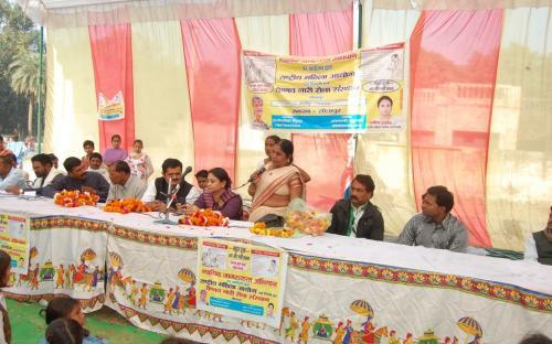 Ms. Shamina Shafiq, Member, NCW attended a Legal Awareness Program at Sakran, Uttar Pradesh