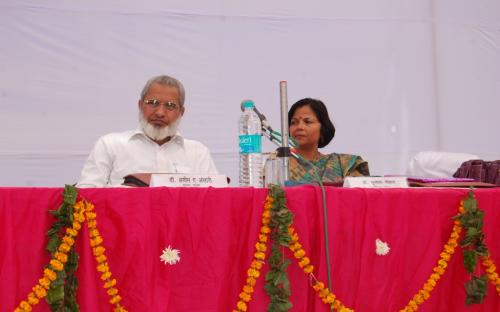 """Smt Mamta Sharma, Chairperson NCW was the chief guest at National Seminar """"Domestic Violence And Women"""" organized by Department of Psychology, R. D. Girls College, Bharatpur, Rajasthan"""