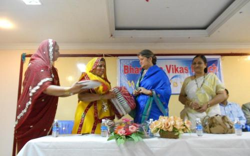 Smt Mamta Sharma, Chairperson NCW visited Puducherry