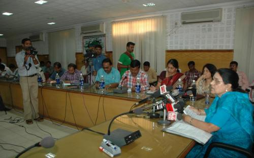 Chairperson, NCW visited Orissa
