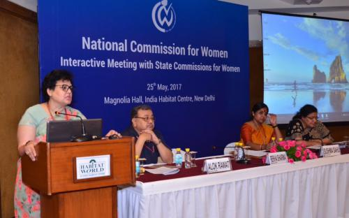 Ms Rekha Sharma, Member-NCW: We are determined to safeguard rights of women by working closely with SWCs