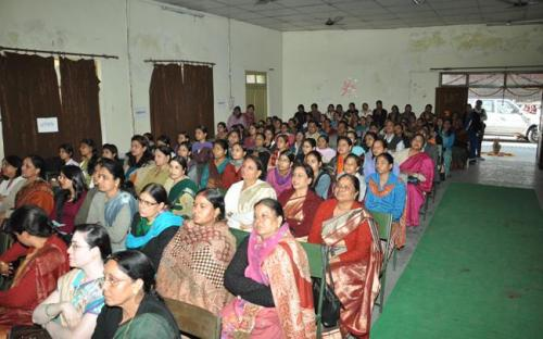 """Hon'ble Chairperson along with Member Hemlata Kheria were the chief guest at State Level seminar on """"Violence Against Women"""" at Kota, Rajasthan"""