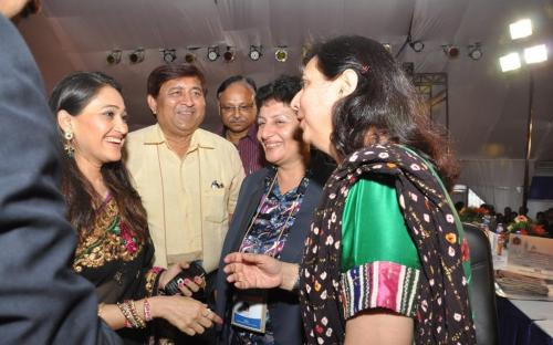 Dr. Charu WaliKhanna Member, NCW was Guest of Honour at Gujarati Diaspora Day