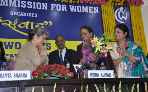 NCW organized SAMVAAD@ncw, the Two Day Inter -State Women Commission Dialogue coordinated by Member Shamina Shafiq