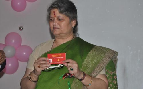 Hon'ble Chairperson was the chief guest at the Annual Function of Biyani Girls College, Jaipur