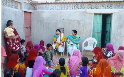 Ms. Hemlata Kheria and Ms Shamina Shafiq, Member, NCW visited BSF Camp at Jaisalmer