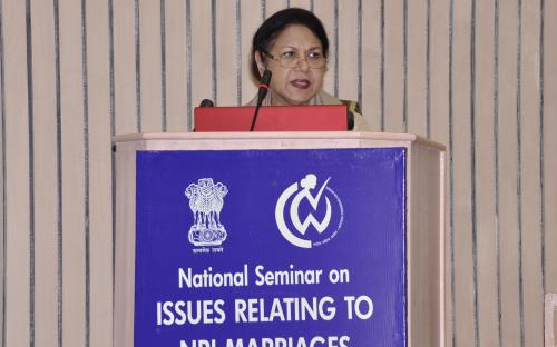 """National Seminar on """"ISSUES RELATING TO NRI MARRIAGES"""" Photo(S)"""
