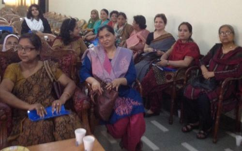 Dr. Charu WaliKhanna, Member NCW was Chief Guest at the Workshop on 'Gender Sensitization and Committee against Sexual Harassment' organized by Aligarh Muslim Teachers Association (AMUTA), Aligarh, Uttar Pradesh