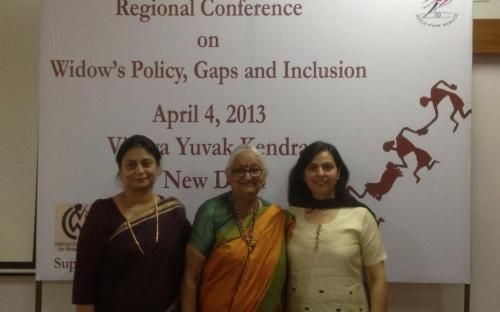 """Dr. Charu WaliKhanna and Ms Shamina Shafiq, Members, NCW attended the Regional Conference on """"Widow's Policy, Gaps and Inclusion"""""""