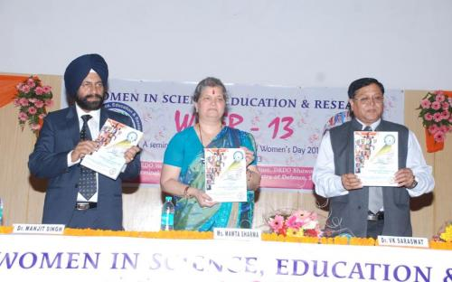 Ms. Mamta Sharma, Hon'ble Chairperson, NCW was the chief guest at Women in Science, Education & Research – WISER -13, A seminar to celebrate International Women's Day Chandigarh