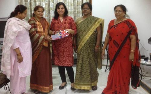 Dr. Charu WaliKhanna, Member, was the guest of honor at awareness workshop