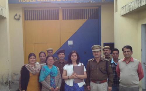 Dr Charu WaliKhanna, Member, NCW inspected Model Central Jail, Kanda, Shimla