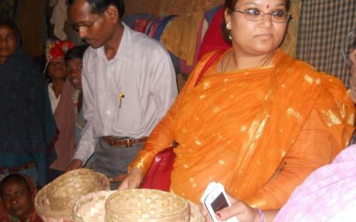 Ms Hemlata Kheria, Member, NCW visited Viridadi village Panchayat and Goradajhari Village, nachuni Panchayat, Odisha