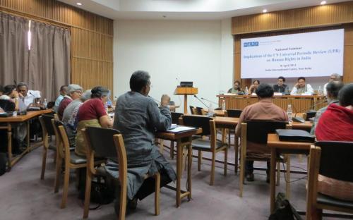 Ms Nirmala Samant Prabhavalkar, Member, NCW participated as panelist in UPR seminar organized by WGHR