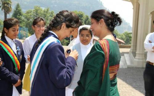 Ms. Shamina Shafiq, Member, NCW attended as Chief Guest the Annual P.Ed. Display of St. Mary's Convent School, Nanital