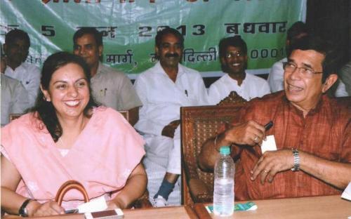 Dr. Charu WaliKhanna, Member, NCW was Guest of Honour at 'Rashtriya Pratinidhi Sammelan' organized by Akhil Bhartiya Safai Mazdoor Sangh, New Delhi at Mavlankar Hall, New Delhi