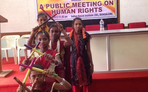 Dr. Charu WaliKhanna, Member, NCW, was Chief Guest at Valedictory Function of the Public Meeting on Human Rights organized by National Alliance of Women (NAWO)