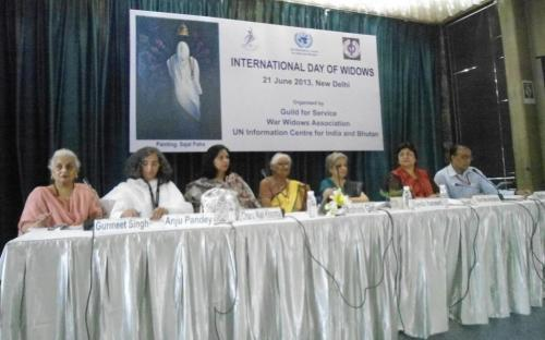 """Dr. Charu WaliKhanna, Member, was Guest of Honour at the programme celebrated to observe """"International Day of Widows"""""""