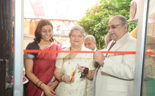 Ms. Mamta Sharma, Chairperson, NCW inaugurated Vijaya Bank Branch at Janakpuri, New Delhi