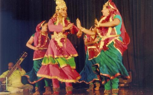 Smt. Mamta Sharma, Hon'ble Chairperson, was the Chief Guest at a dance function