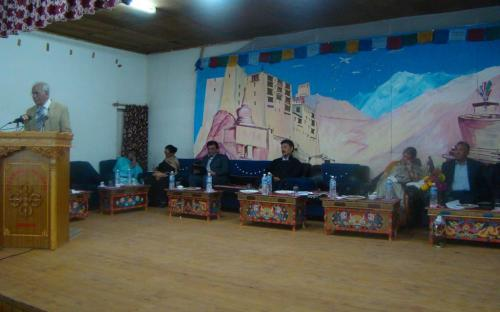 Smt. Mamta Sharma, Hon'ble Chairperson, NCW attended a seminar organized by Minority Community Women's Organization, Leh