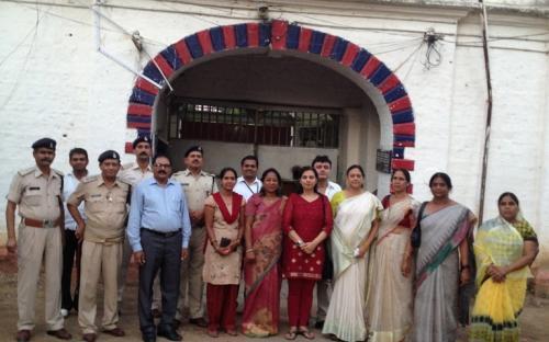 Dr. Charu WaliKhanna Member inspected Central Jail, Rewa, Madhya Pradesh