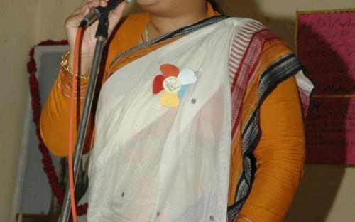 Ms. Hemlata Kheria, Member, NCW was Chief Guest at Shakti Sadbhavna Sammelan at Gandhi Ashram, Kingsway Camp, Delhi