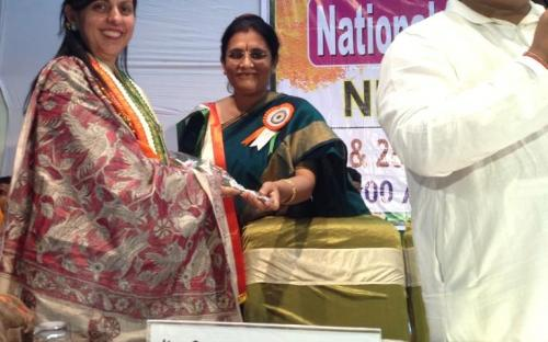 Dr. Charu WaliKhanna, Member, NCW, Guest of Honour at Seminar on 'Empowerment of Women in India' at Delhi