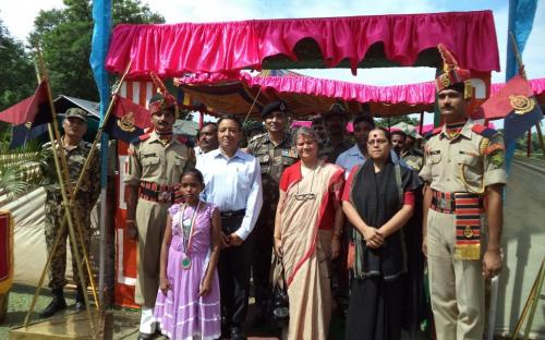 Smt. Mamta Sharma, Hon'ble Chairperson, NCW attended special consultation organized with the Border Security Force in the state of West Bengal