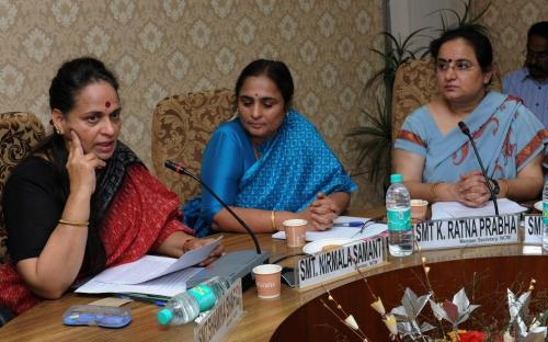 The Commission organized a training and sensitization programme for the Chairpersons / Officials of the State Women Commissions