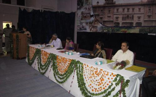 Smt. Nirmala Samant Prabhavalkar, Member, NCW attended a programme organized by Rajasthan University of Veterinary and Animal Sciences, Bikaner
