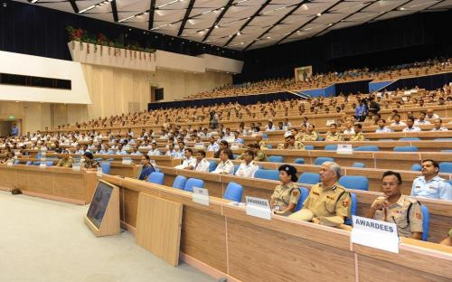 """National Commission for Women organized in collaboration with Special Study Expert Committee and Special Task Force (Rape, Trafficking and Violence against Women) a seminar on """"Role of Women in peace and non-violence and responsibility of Police"""