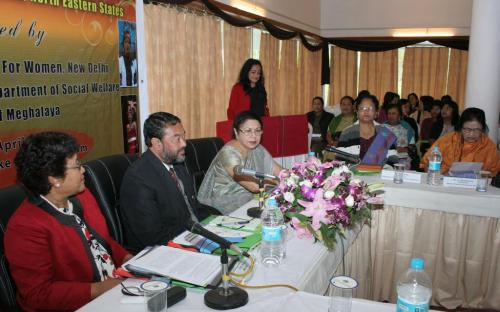 "Consultation on ""Marriageabel Age"" with the Chairperson of State Commission for Women of North Eastern States"
