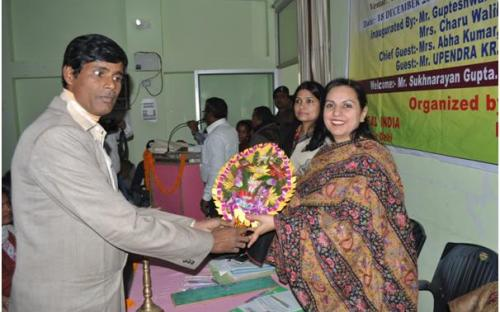 """Dr. Charu WaliKhanna, Member, NCW was Chief Guest in State Level Seminar on """"Women's Safety: A Challenge mainly focusing on Domestic Violence against Women"""""""