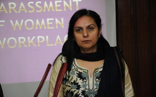 """Dr. Charu WaliKhanna, Member, NCW was Chief Guest at the Workshop on """"Prevention of Sexual Harassment at Workplace"""""""