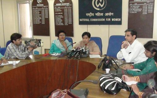 Press conference of Ms. Yasmeen Abrar, Acting Chairperson, NCW