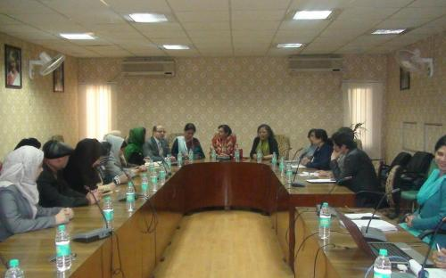 A delegation from Afghanistan visited National Commission for Women and discussed the status of Women in India and AfghanistanA delegation from Afghanistan visited National Commission for Women and discussed the status of Women in India and Afghanistan