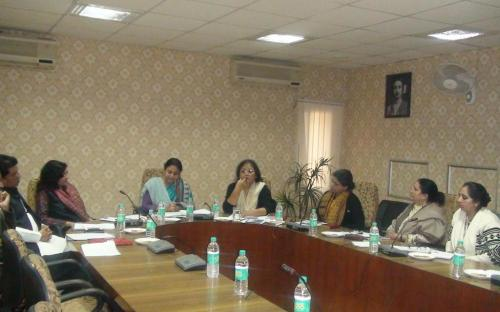 """First meeting of the Expert Committee on """"Violence Against Women of Minority Communities"""" has been held at Conference Hall of the Commission"""