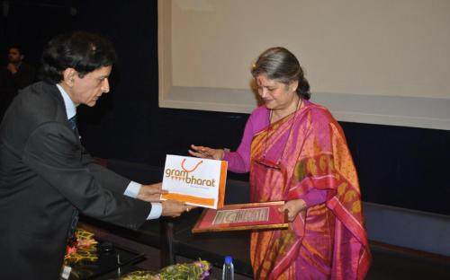 "Smt. Mamta Sharma, Hon'ble Chairperson, NCW was Guest at one day ""Documentary Film Festival on Women Issues"""