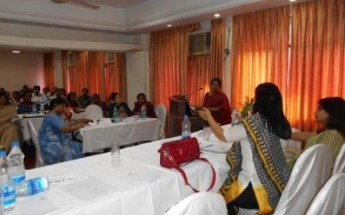 Dr. Charu WaliKhanna, Member was Chief Guest in the National Consultation to review Rajiv Gandhi Scheme for Empowerment of Adolescent Girls – SABLADr. Charu WaliKhanna, Member was Chief Guest in the National Consultation to review Rajiv Gandhi Scheme for Empowerment of Adolescent Girls – SABLA