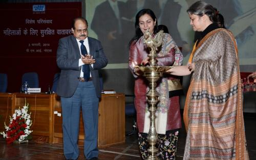 "Smt. Mamta Sharma, Hon'ble Chairperson, NCW was Chief Guest at Inauguration of the Workshop on ""Prevention of Sexual Harassment at the Workplace"""