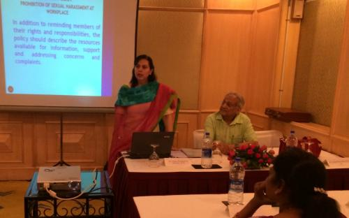 Dr. Charu WaliKhanna, Member, was Chief Guest at the Workshop
